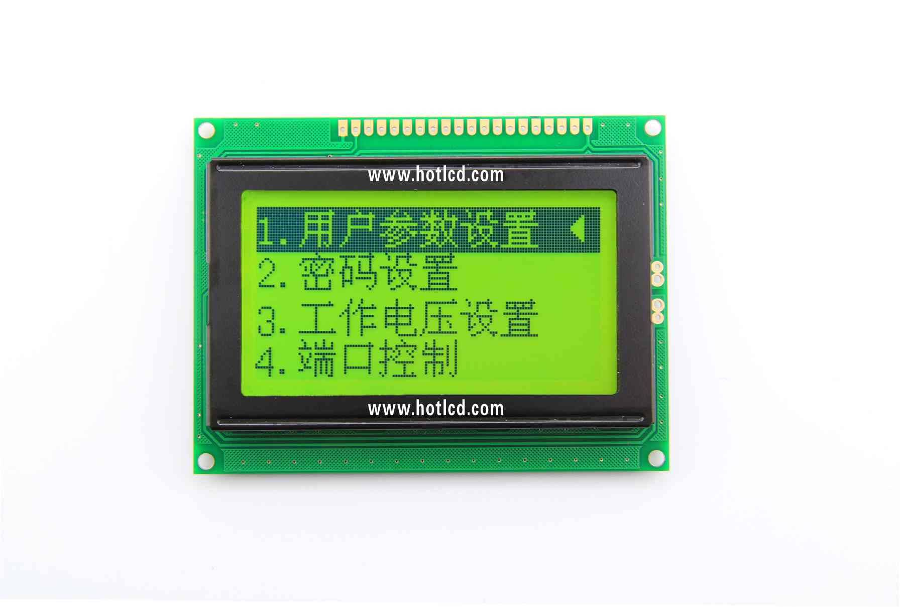 12864B graphics dot matrix module