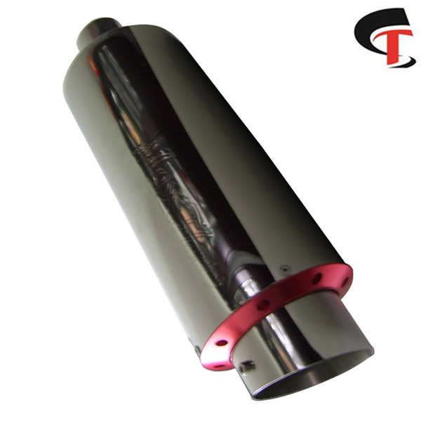 Auto Car Polished Exhaust Muffler