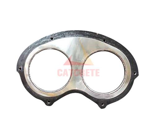 Concrete Pump Parts SANY Carbide Spectacle Wear Plate Glasses plate DN200 DN230 DN260