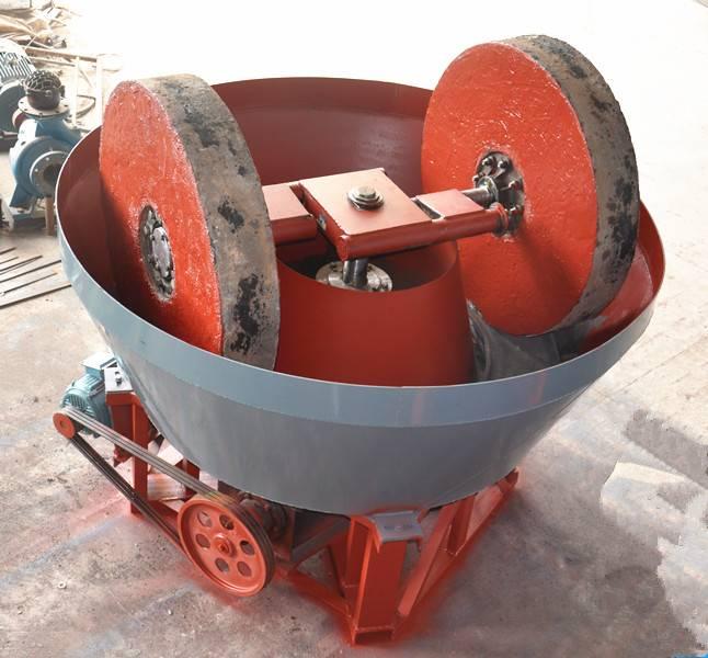 Sudan edge runner mill gold grinding machine wet pan mill
