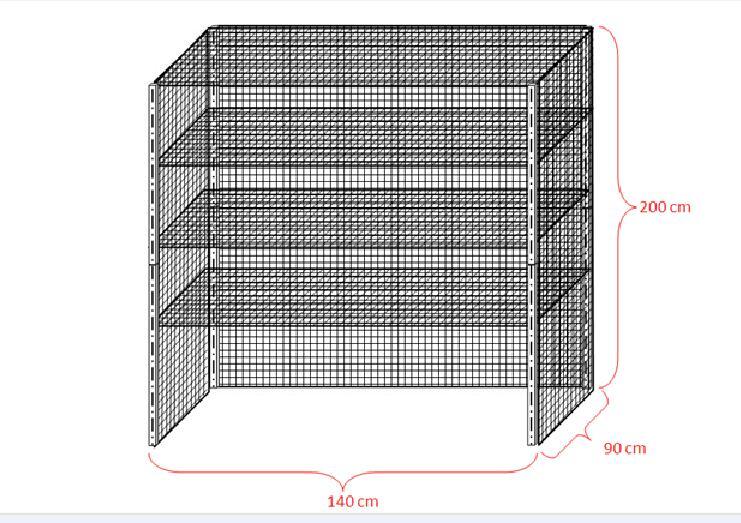 adjustable chrome metal wire shelf/wire shelving/shelving
