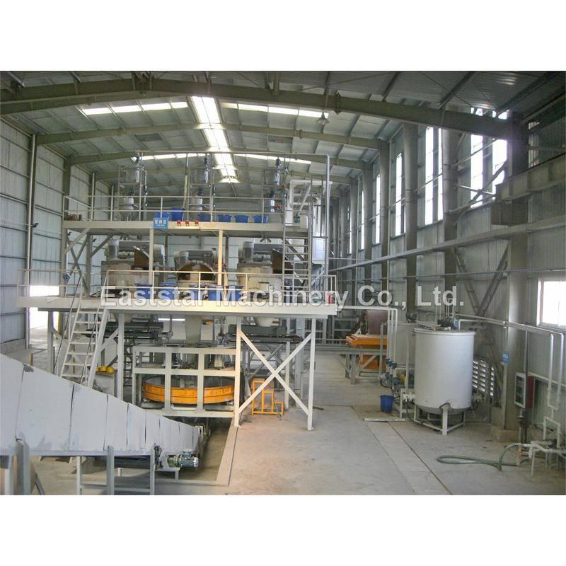 Artificial Quartz Slab Making Plant Semi Automatic Es3250s