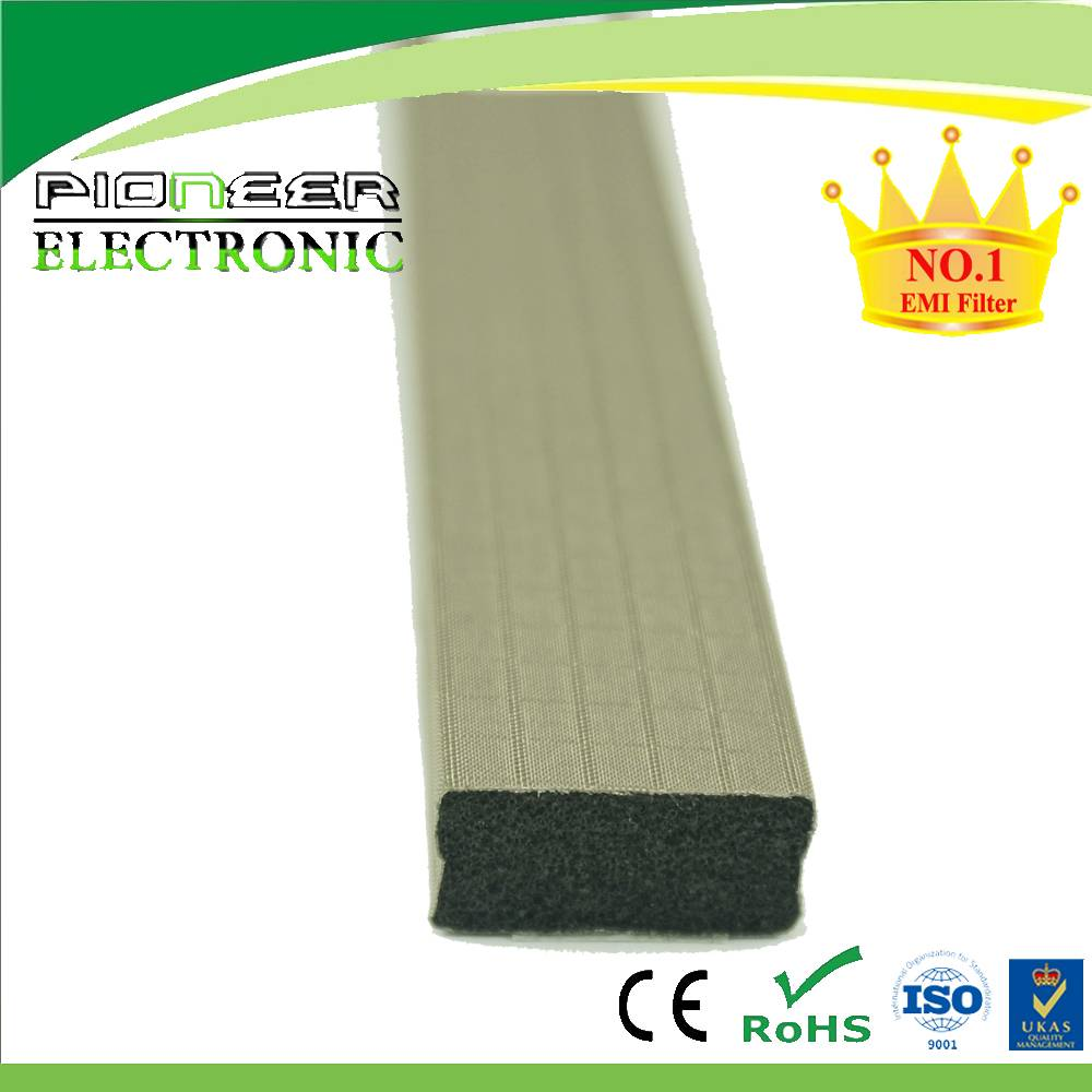 foam gasket with conductive tape for shielding room