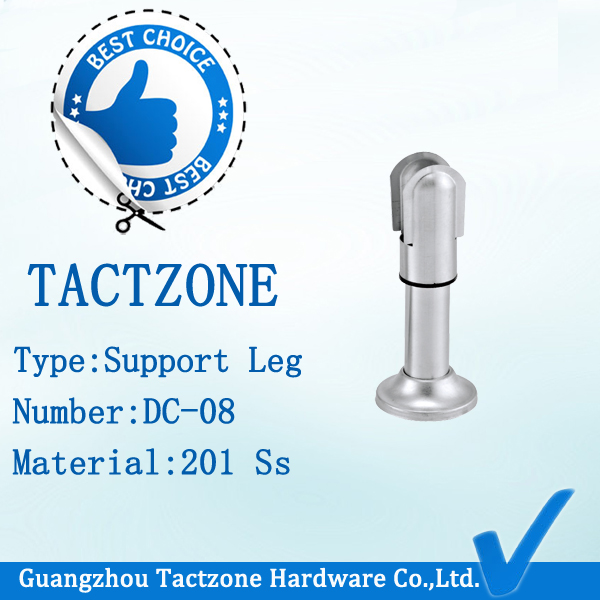 Zinc Alloy Toilet Partition Cubicle Fitting Supporting Legs