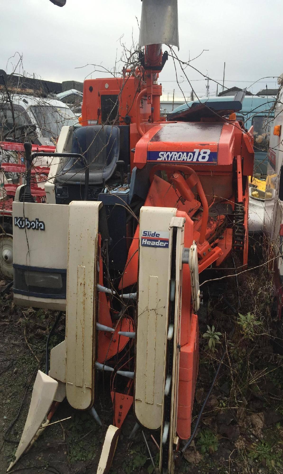 Used combine harvester Kubota R1-18G Unit 4