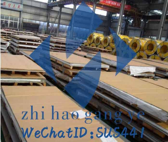 430 stainless steel,surface finish:2B,thickness:0.3~3mm