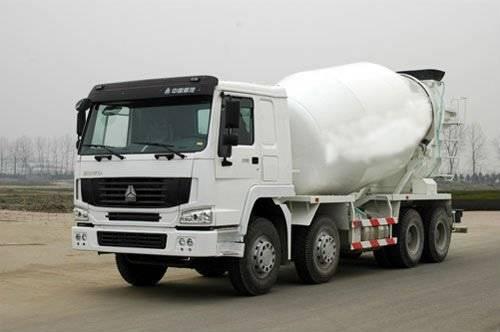 HOWO 8×4 Concrete Tanker