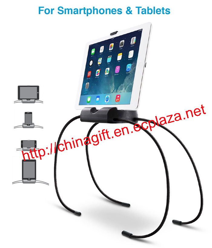 ADJUSTABLE, UNIVERSAL SPIDER STAND / HOLDER FOR BED / SOFA / KITCHEN - HOLDS ALL SMARTPHONES & TABLE