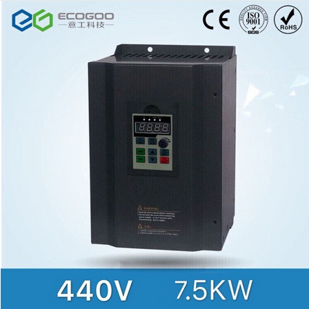 440V 7.5kw Three Phase Multi-Functional Frequency Converter for Air Compressor