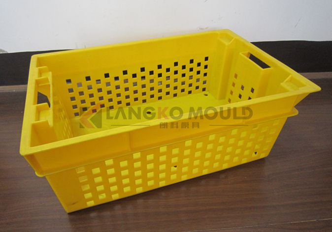 stacking plastic crate mould