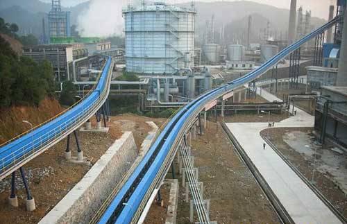 Opencast Mine Belt Conveyor
