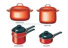 utensils of steel,aluminium,copper and brass