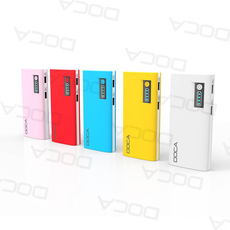 Hot Sale for Mobile Phone Coloful Power Bank with Gift Box retail package