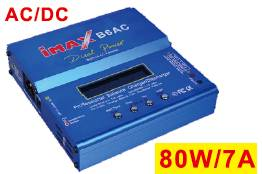 IMAX B6AC battery charger  80W 7A  power charger for electrical vehicle LiPo LiFe battery