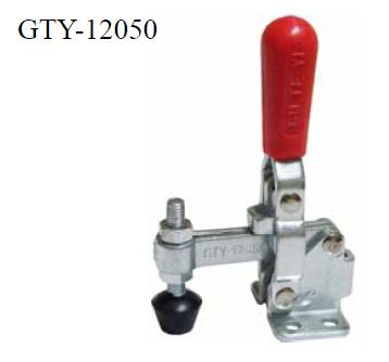 Vertical toggle clamp 12050-U 202LB 92Kg flanged base hand tool toggle clamp similar to DESTACO 202-
