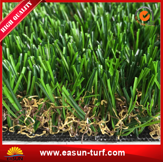 15mm green color artificial grass carpet for roof landscaping-AL