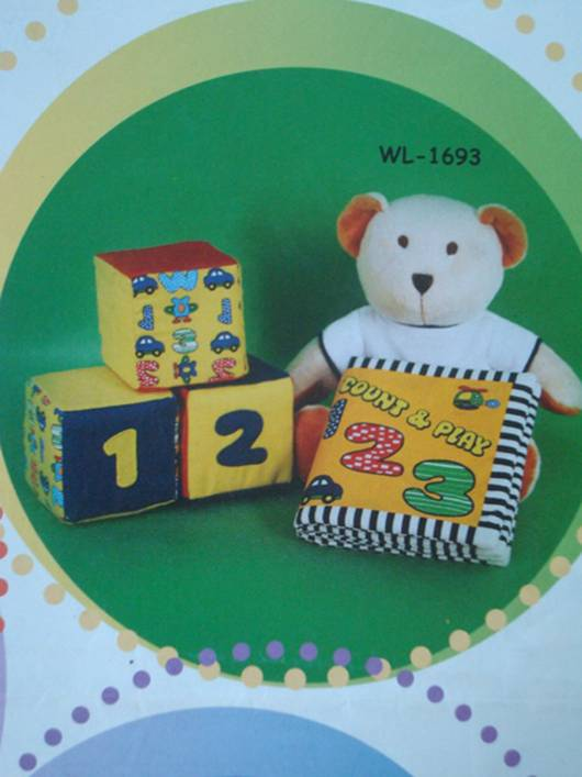 Teddy bear with  summer T-shirt cloth