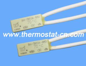 BH-TB02K-B8D mini thermal protector, normally open