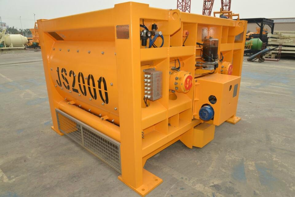 Leading Concrete Mixer Manufacturer With ISO