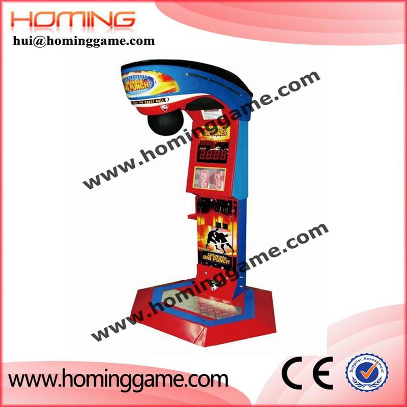 2016 Best Selling ultimate big punch game machine / Boxing Game Machine / Boxer Machine(hui@homingga