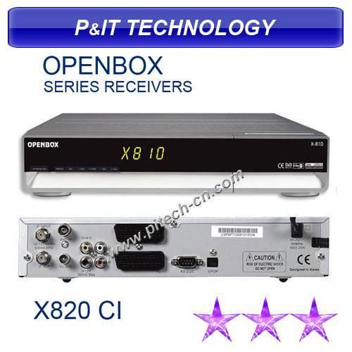 Openbox X820CI MPEG 2 DVB-S Set Top Box
