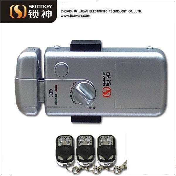 Hidden Door Lock, Without Cylinder China supply high security steel door lock(LY15CR2)