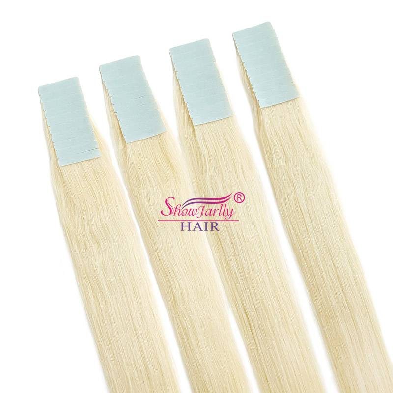 PU weft hair extensions#60