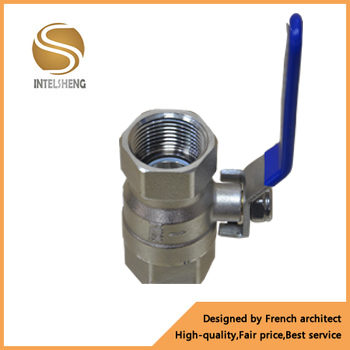 Chrome plated brass ball valve for sale