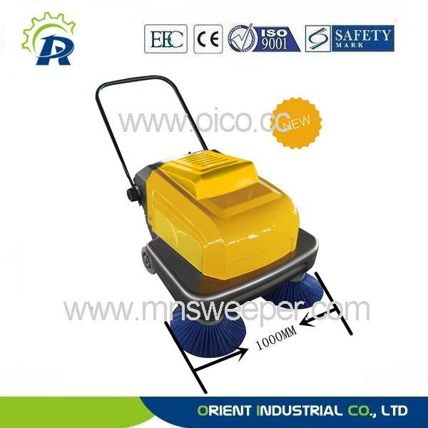 Manual handpush sweeping machine