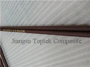 customized surface carbon archery arrow, wood surface carbon arrow shaft