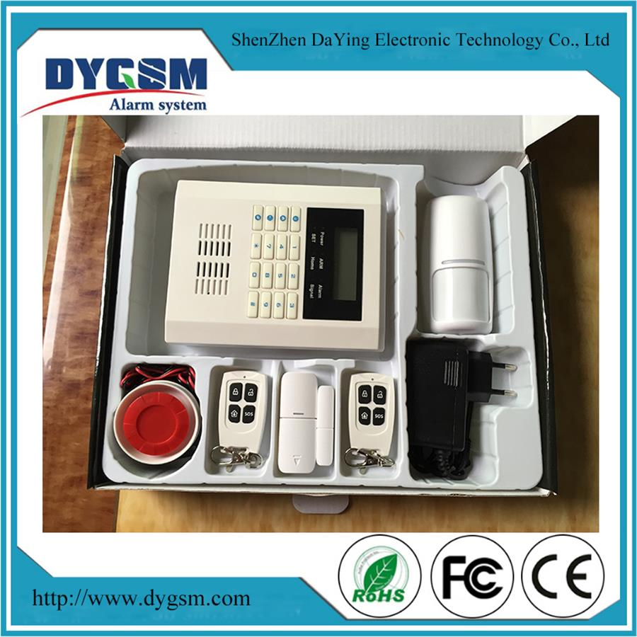 PSTN GSM Dual Network Home Security Alarm System DY-GSM10B
