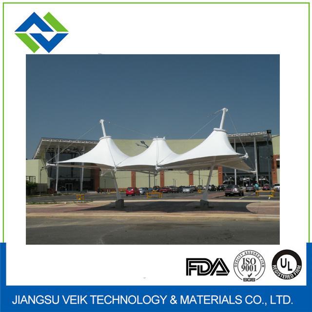 Permanent PTFE architectural membrane