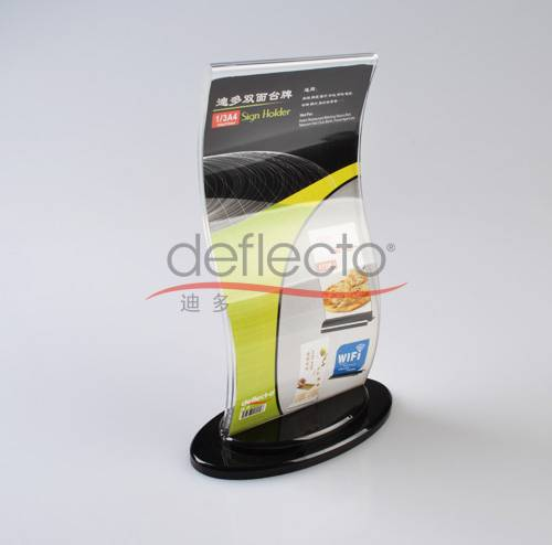 Deflect-o Leaflet Holder/Photo frame,140x71x218(mm)