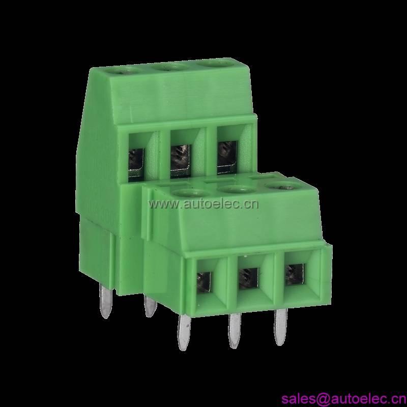 pcb screw terminal block(terminal connector, connector)