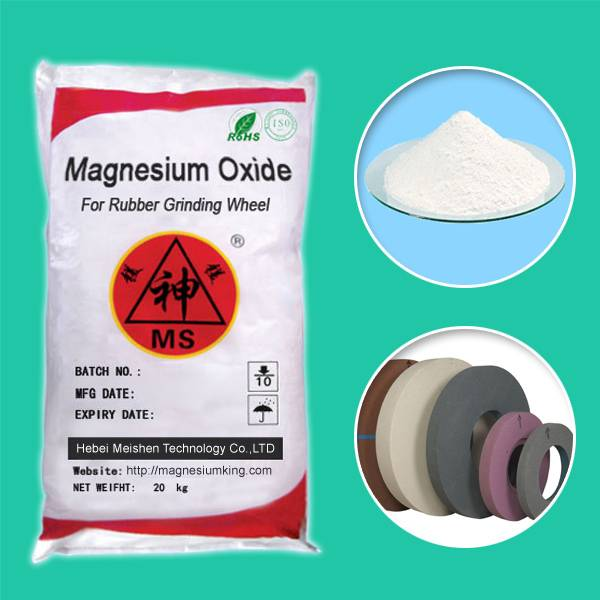 Magnesium Oxide for Rubber Grinding Wheel