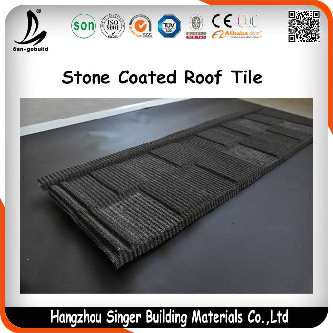 50Years Guranteed Stone Coated MetalRoof Tile