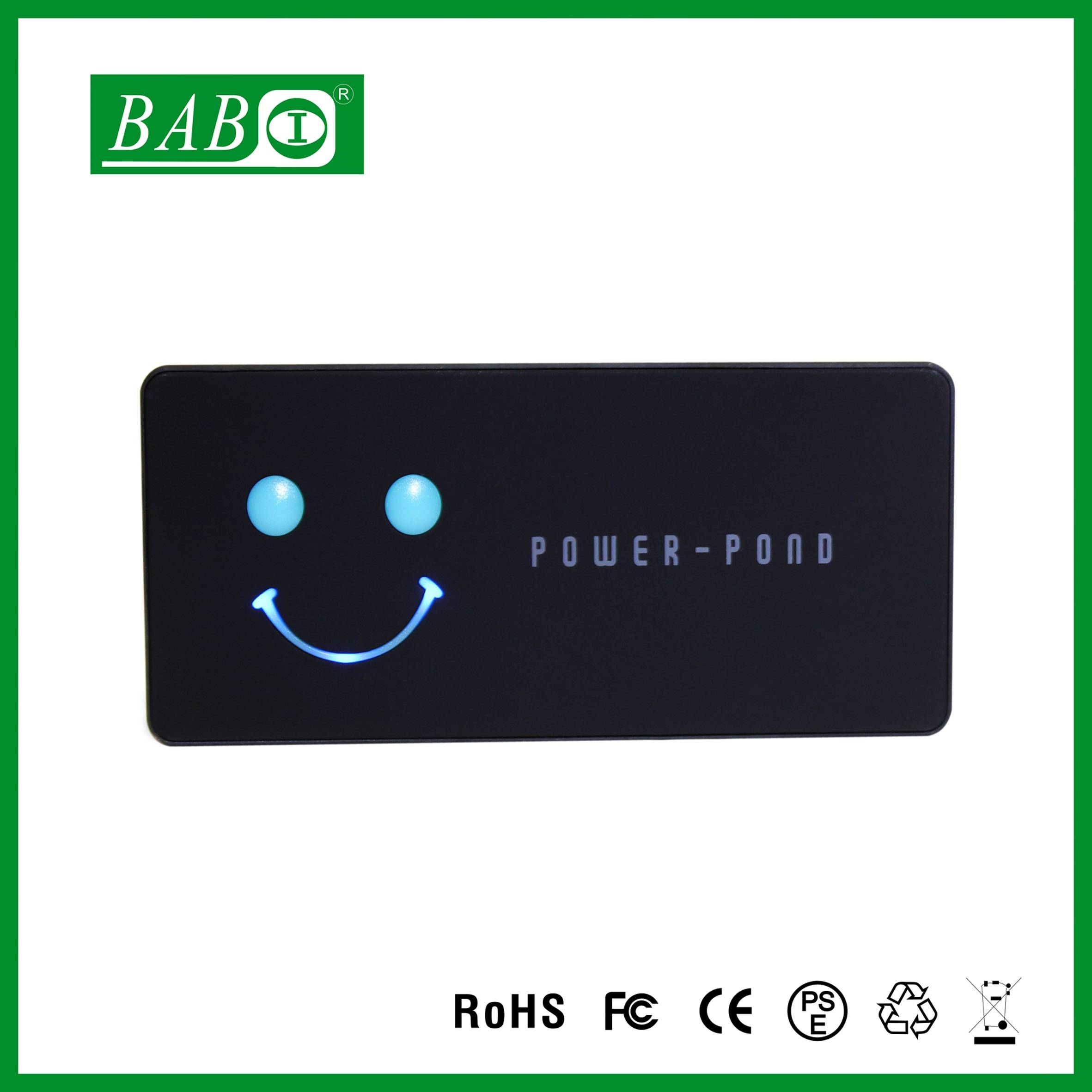 FCC/ ROHS/ CE/ PSE power bank,3750mAh ultra slim portable charger power bank for iPhone 6