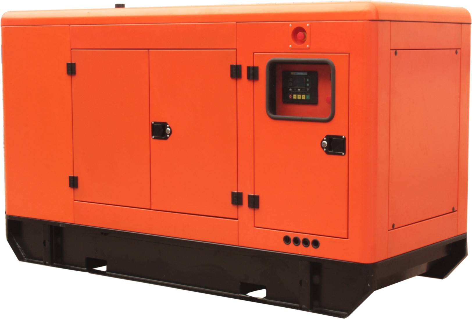 15KW Three Phase Rare Earth Permanent Magnet Soundproof Diesel Generator Set