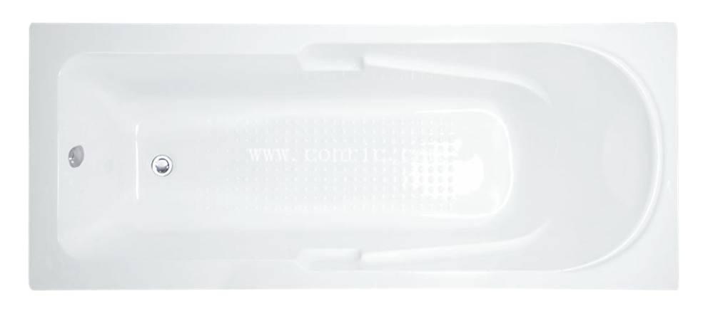 Bathroom use acrylic cheap simple common drop-in acrylic bathtub