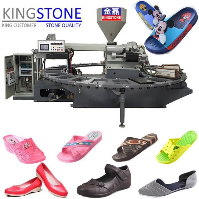 Two Colors Flip Flops Making Machine