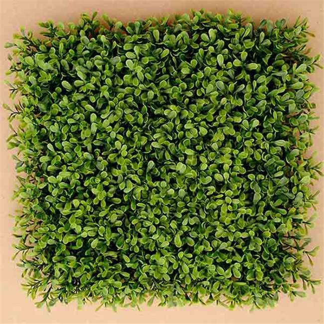 Wall Landscaping Plastic Interior Artificial Leaves Grass Mat for Hedge