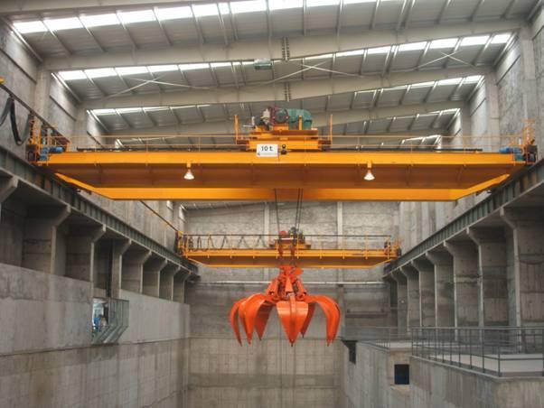 Bridge crane/gantry crane with Grab