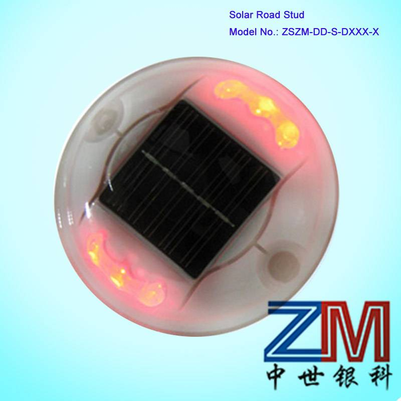 Tow Sides Round Solar Road Stud