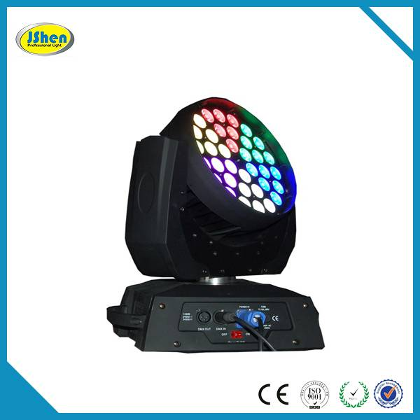 36*10W 4in1 Led Zoom Moving Head Stage Lighting