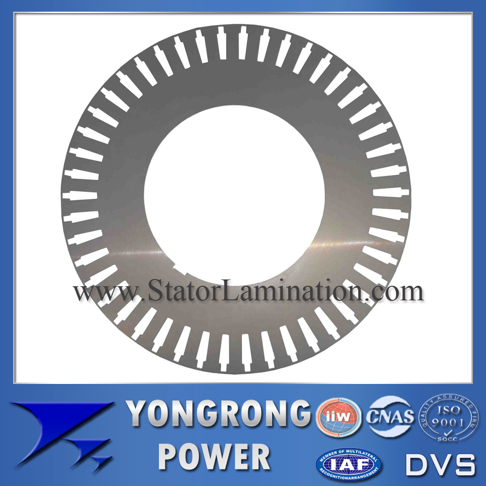 IE3 Premium Efficiency High Voltage Electric Motor Rotor Electric Steel Sheet
