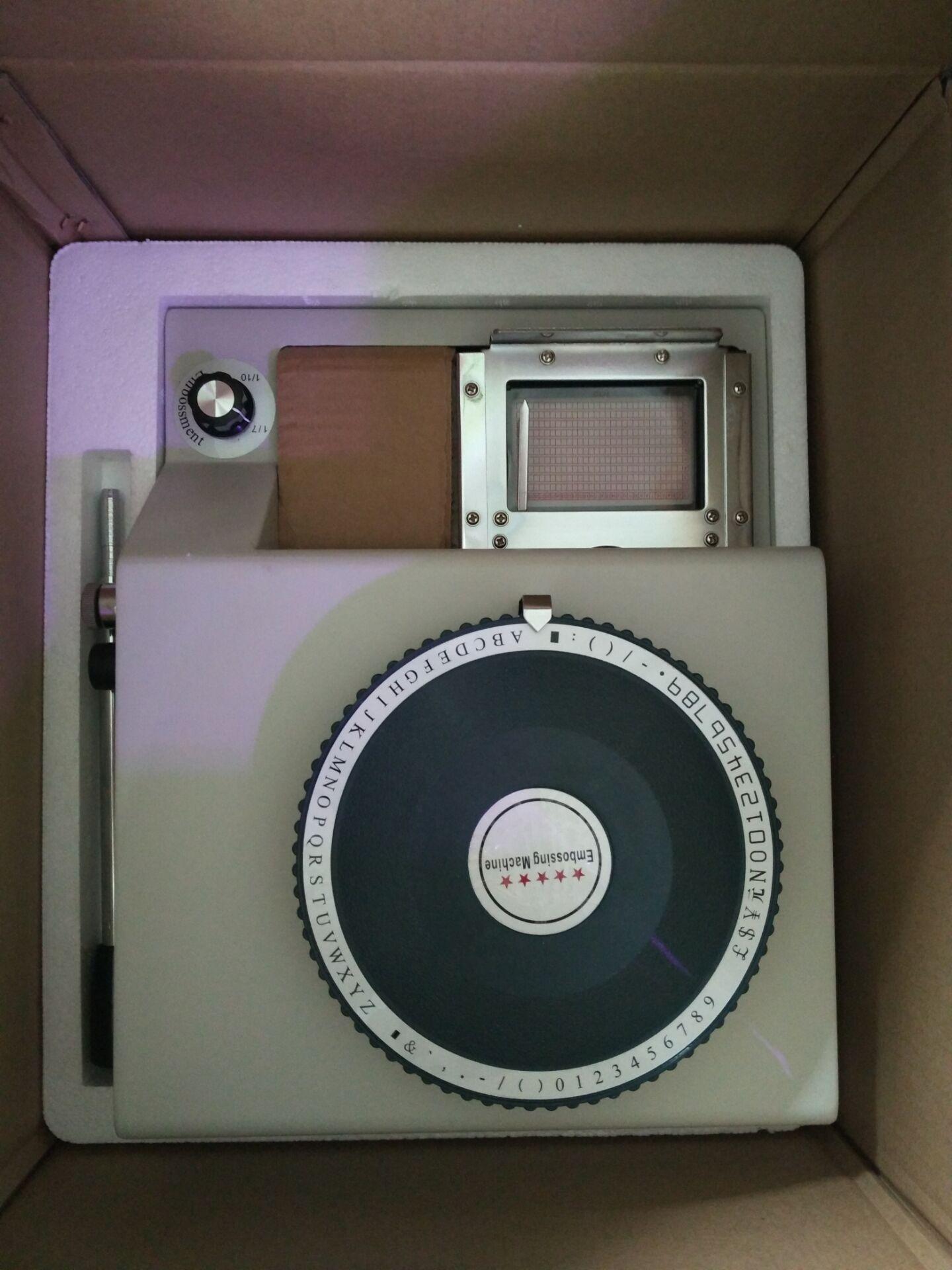 CNJ-2000 Manual embosser