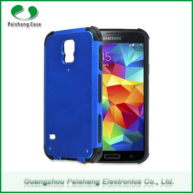 Durable TPU+PC Matte UV coating finish 2 in 1 dual layer armor combo phone case cover for Samsung ga