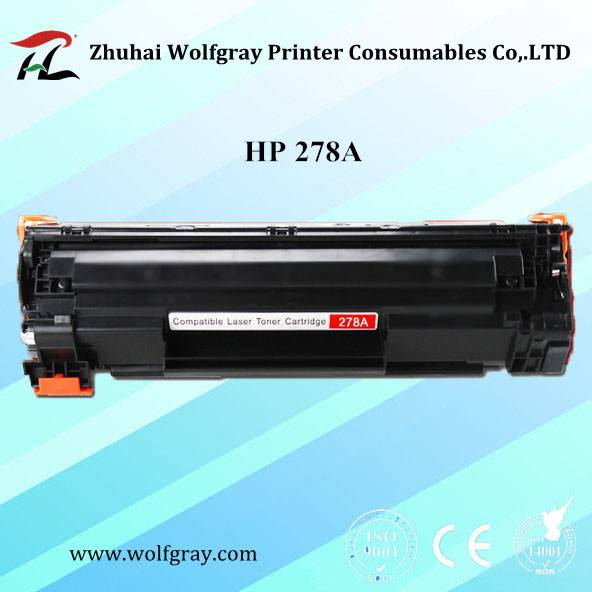 Low price compatible toner cartridge HP 278A for HP Laserjet P1566/1606