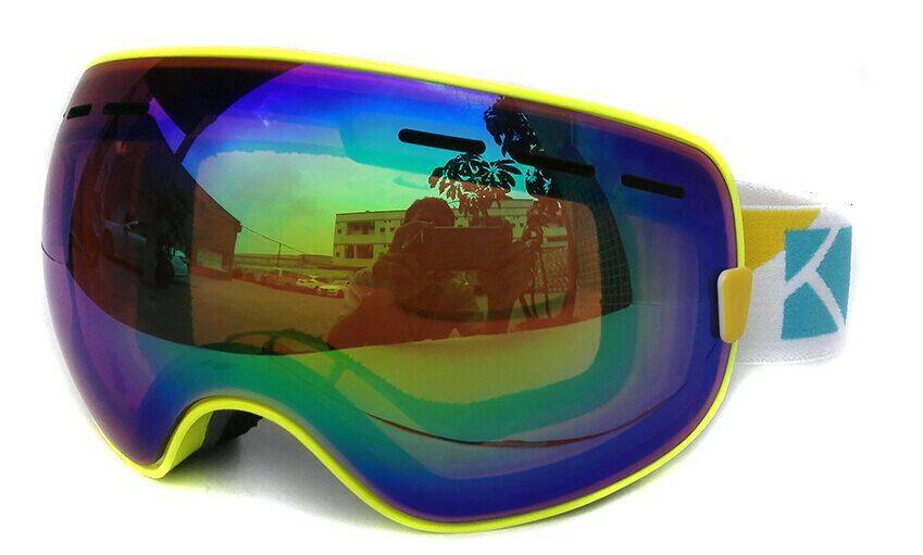 interchangeable headband alpine skiing goggles