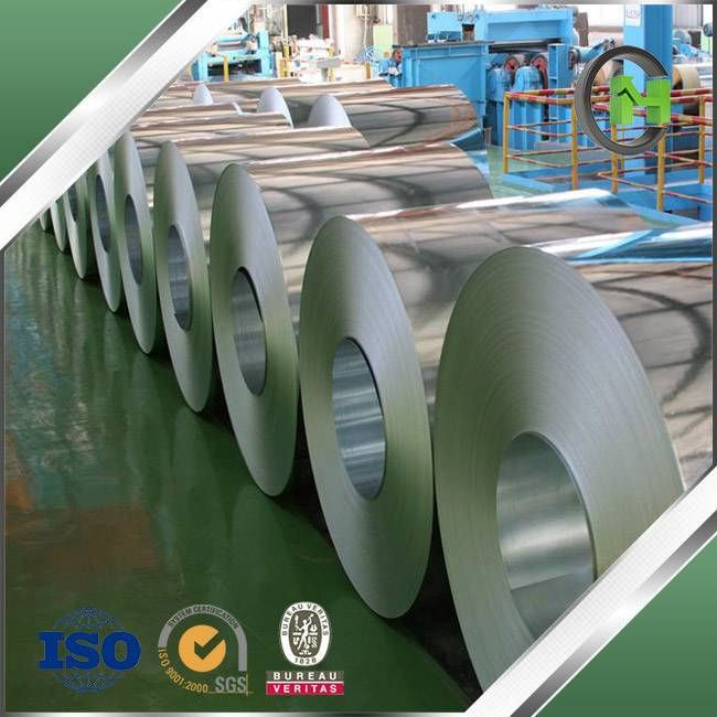 Base Metal Used Zinc Coated Hot-Dipped Galvanized Steel Coils with Anti-Fingerprint (AFP) Treatment